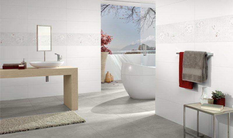 Carrelage pour salle de bain de la série FUSE vendu chez Glaesener-Betz