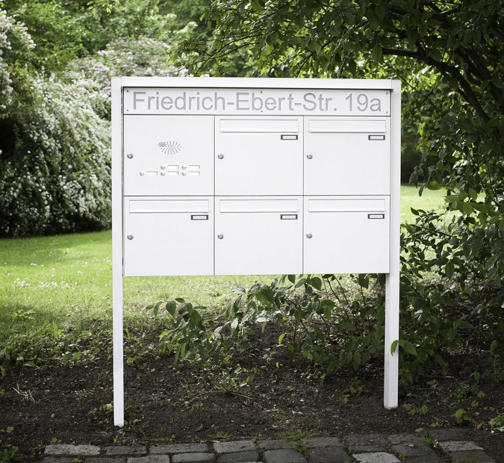 Boîtes aux lettres pour résidence Max Knobloch en vente chez Glaesener Betz