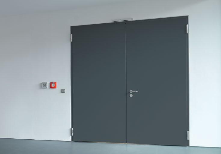 Portes universelles en acier Hörmann vendue chez GLaesener-Betz