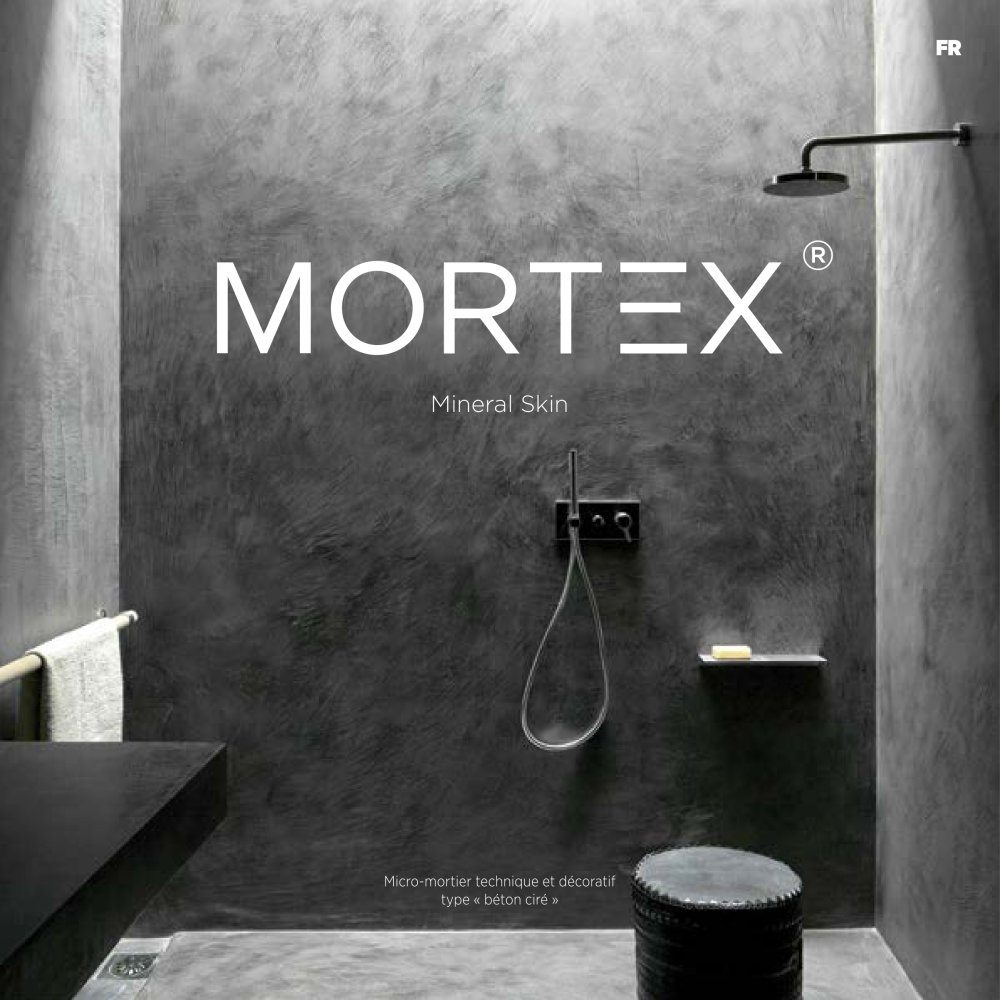Le système MORTEX est un enduit fin imperméable utilisé pour les revêtements techniques et décoratifs. Il est en vente chez Glaesener-Betz dans notre service Carrelage.