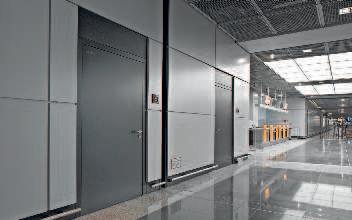 Portes HÖRMANN multifonctionnelles en acier faites pour lindustrie vendue chez Glaesener-Betz.