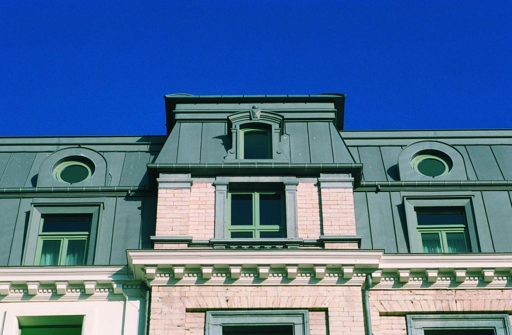 Matériaux bardage de façade en zinc en vente chez Glaesener-Betz