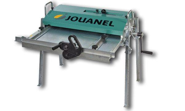 Outillage pour couvreur: Jouanel profileuse manuelle pour bacs à tasseaux en vente chez Glaesener-Betz. (modèle PBC 650 M)