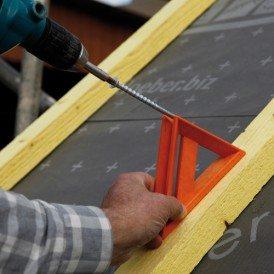 Klöber vis d'ancrage à simple filet Permo® therm: la solution de fixation sûre pour les systèmes d'isolation sur chevrons en vente chez Glaesener-Betz