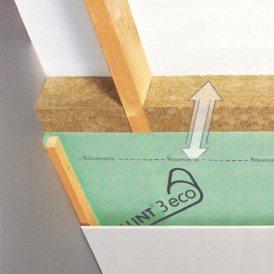 Kloeber Wallint® 3 eco: pare-vent/frein-vapeur 2 couches pour usage intérieur en vente chez Glaesener-Betz