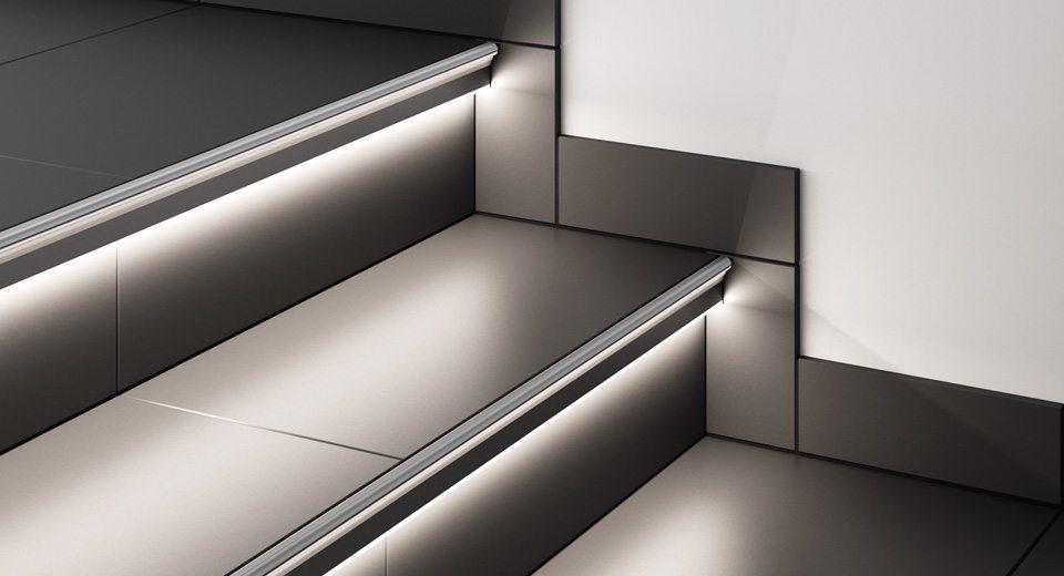 Profilés lumineux LIPROTEC vendus chez Glaesener-Betz.