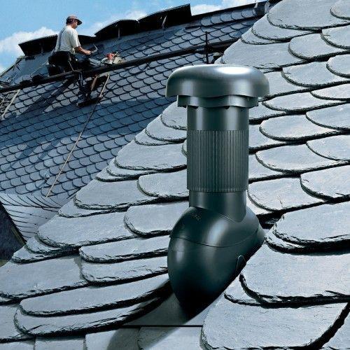 Kit de ventilation pour ardoise sur sortie de toit en pente Kloeber Venduct