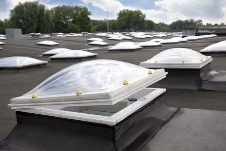 Coupole pour toiture plate Skylux